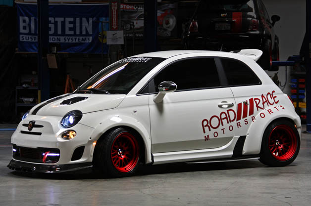 Road Race Motorsports rolls out Fiat 500 M1 Turbo Tallini Competizione
