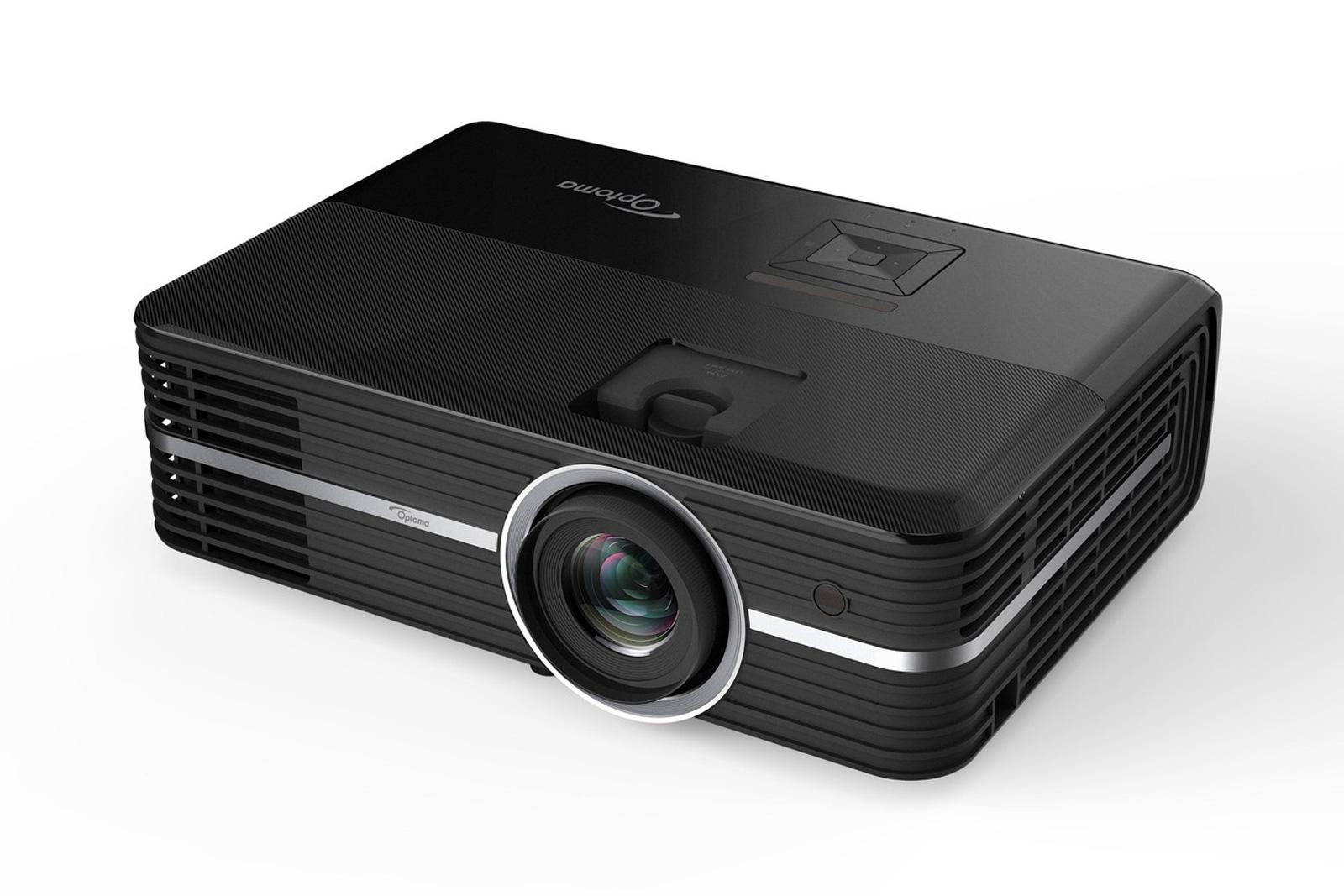 El nuevo proyector de Optoma apagará las luces cuando empiece la película