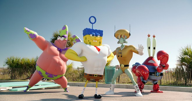 Weekend Box Office Spongebob