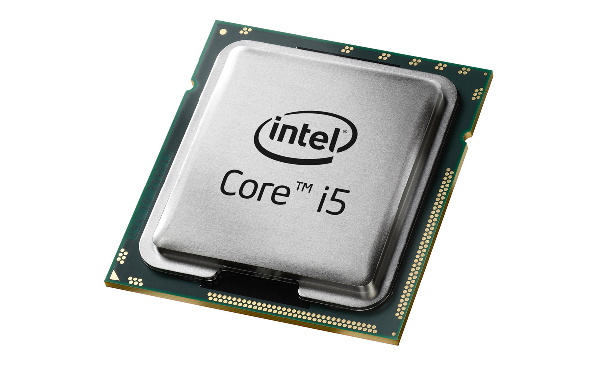 An old Intel Core i5 processor