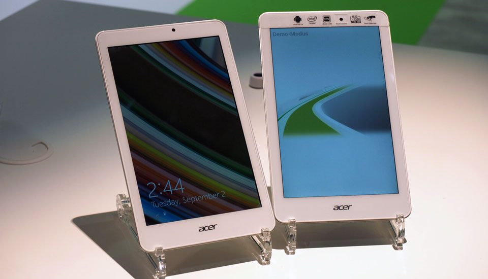Acer's trio of new tablets includes a $150 Windows slate
