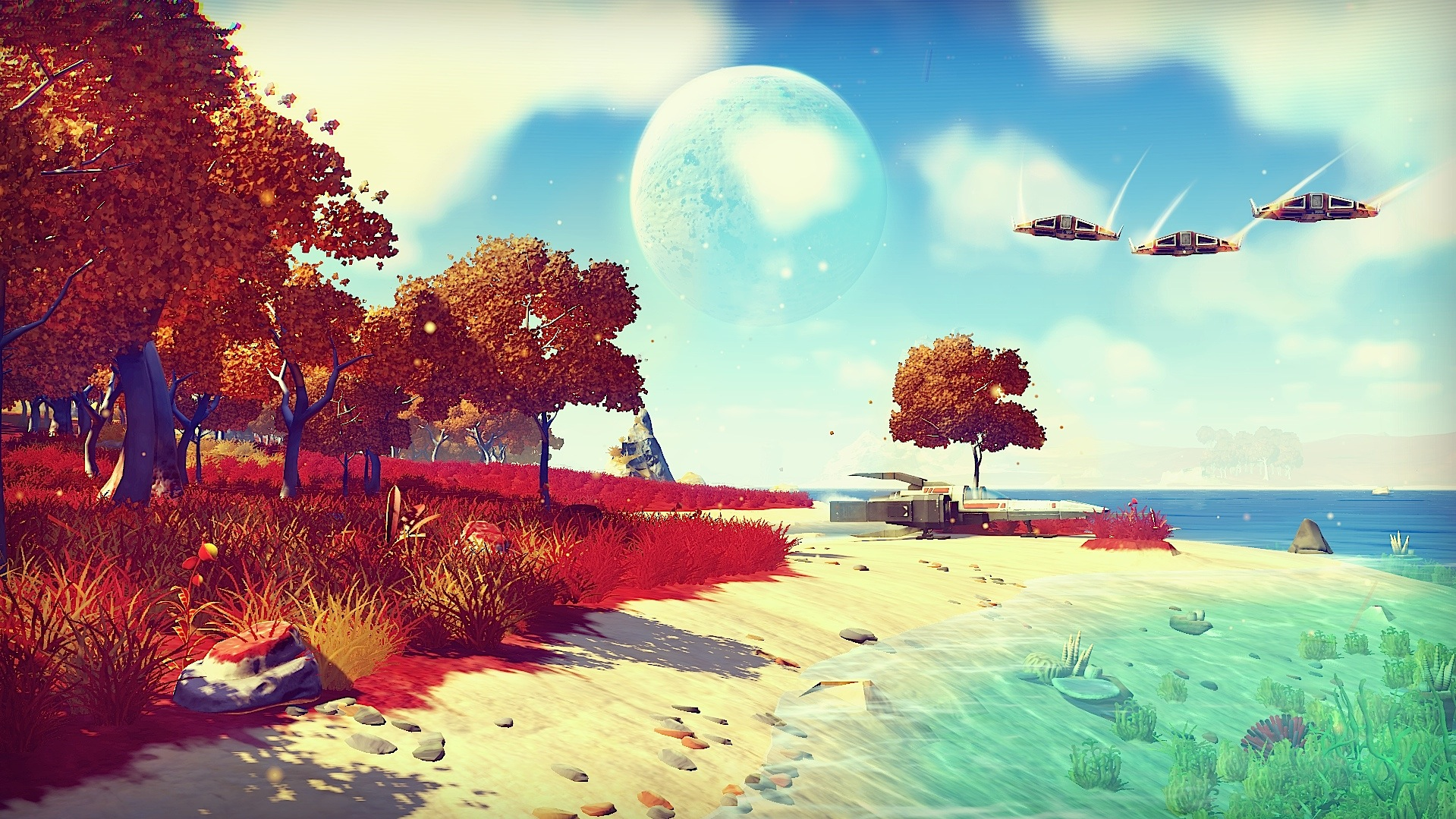 Check out this interview with Hello Games on No Man's Sky!