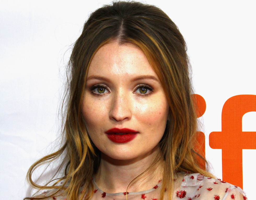 "TORONTO, ON - SEPTEMBER 12:  Actor Emily Browning attends the ""Legend"" premiere during the 2015 Toronto International Film Festival held at Roy Thomson Hall on September 12, 2015 in Toronto, Canada.  (Photo by Jeremychanphotography/WireImage)"