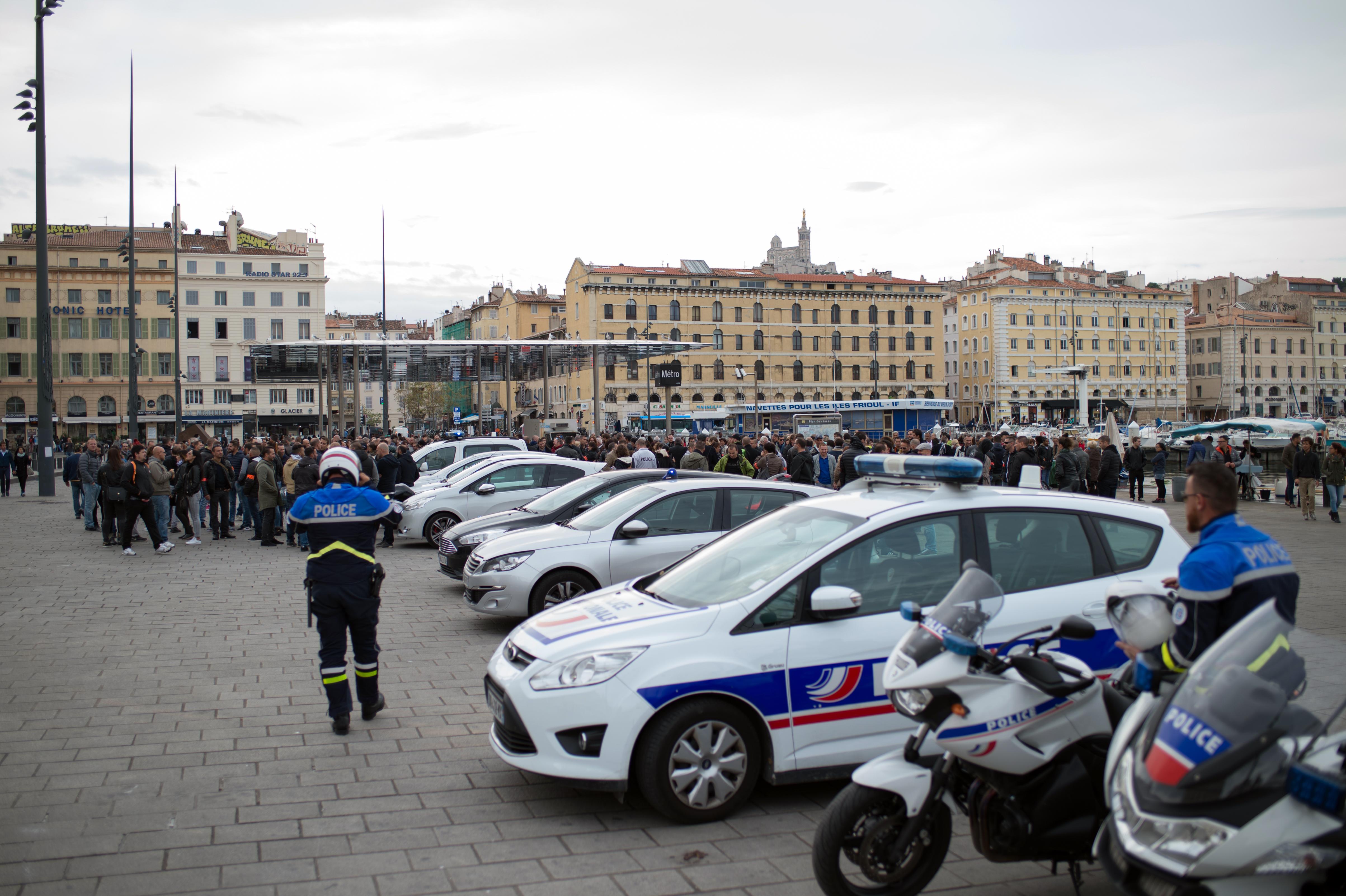 Les syndicats de policiers peu suivis dans leur appel à un rassemblement