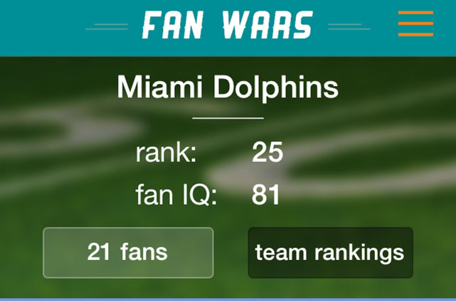 Fan Wars-Pro Football Edition screenshots