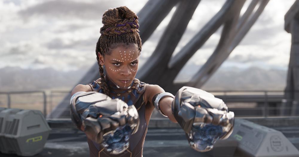 Marvel Studios' BLACK PANTHER..Shuri (Letitia Wright)..Ph: Film Frame..©Marvel Studios 2018