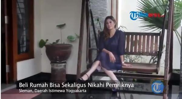 「この家を買えば、私もついてきます」美熟女未亡人の広告がネット上で話題に