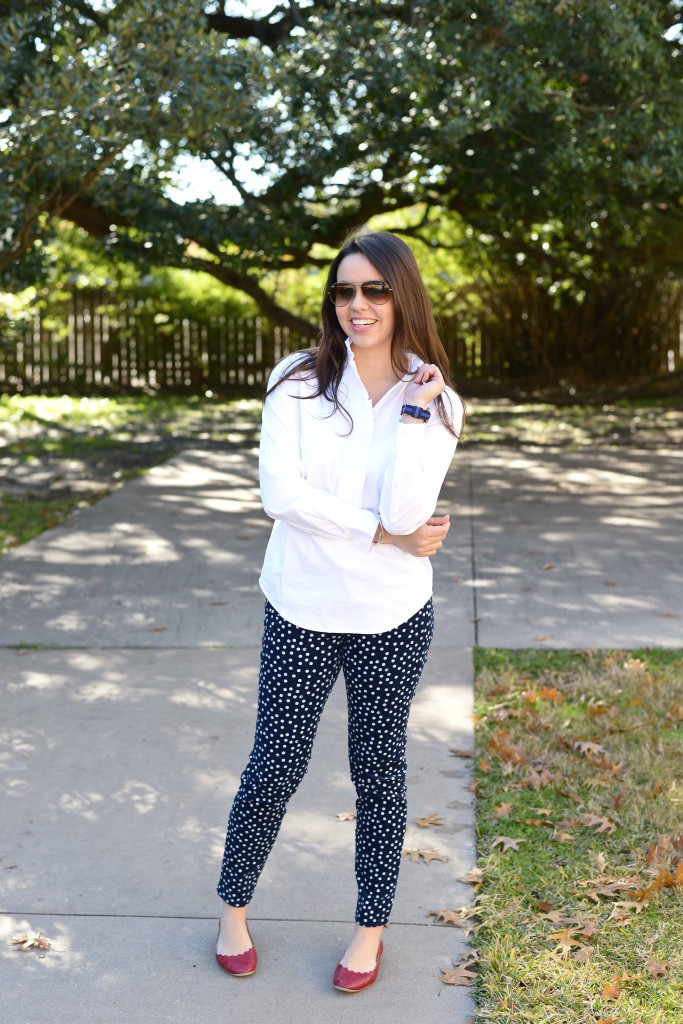 Street style tip of the day: Polka dots