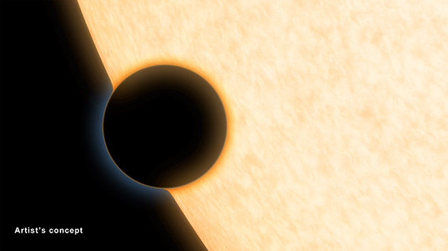 NASA uses three space telescopes to detect water vapor on Neptune-sized exoplanet