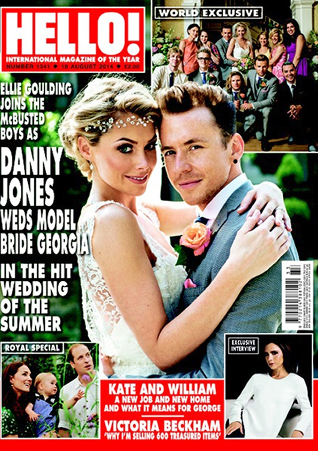 McBusted's Danny Jones and Georgie Horsley wedding pics