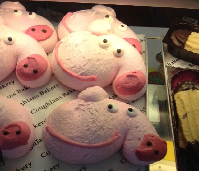 Rude Peppa Pig biscuits are definitely not suitable for kids