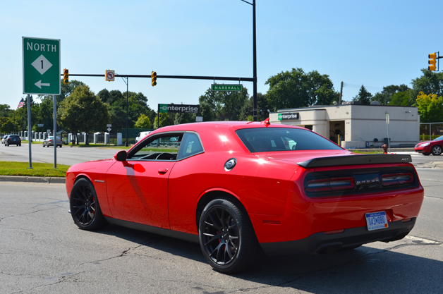 2015 Dodge Challenger Hellcat on Woodward Ave