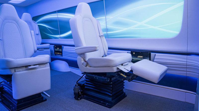 ボーズ社が滑らかな乗り心地を提供する自動運転車向けシートをCESで発表