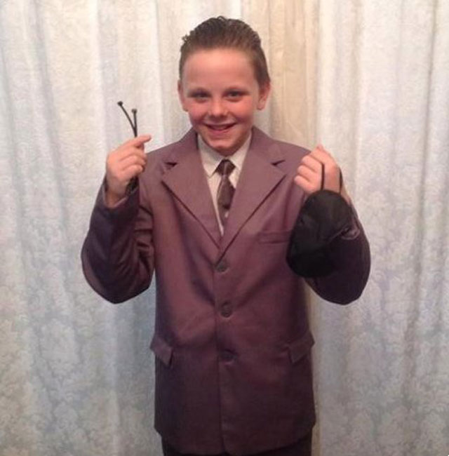 Boy, 11, banned from school's World Book Day for dressing as Fifty Shades of Grey character