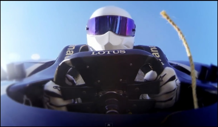 bungee, bungee jumping, F1 car, Stig, stunt, video, Top gear, funny, komisch, witzig, lustig, The Stig