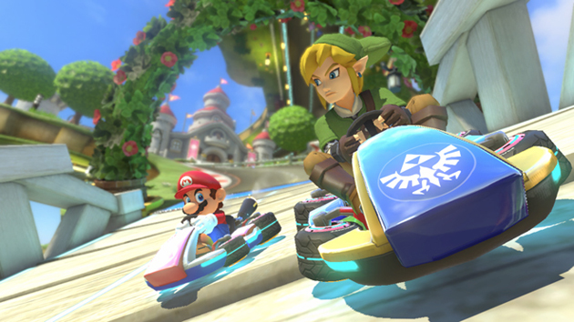 Nintendo's new 'Mario Kart 8' add-ons put Link and Luigi on the same track