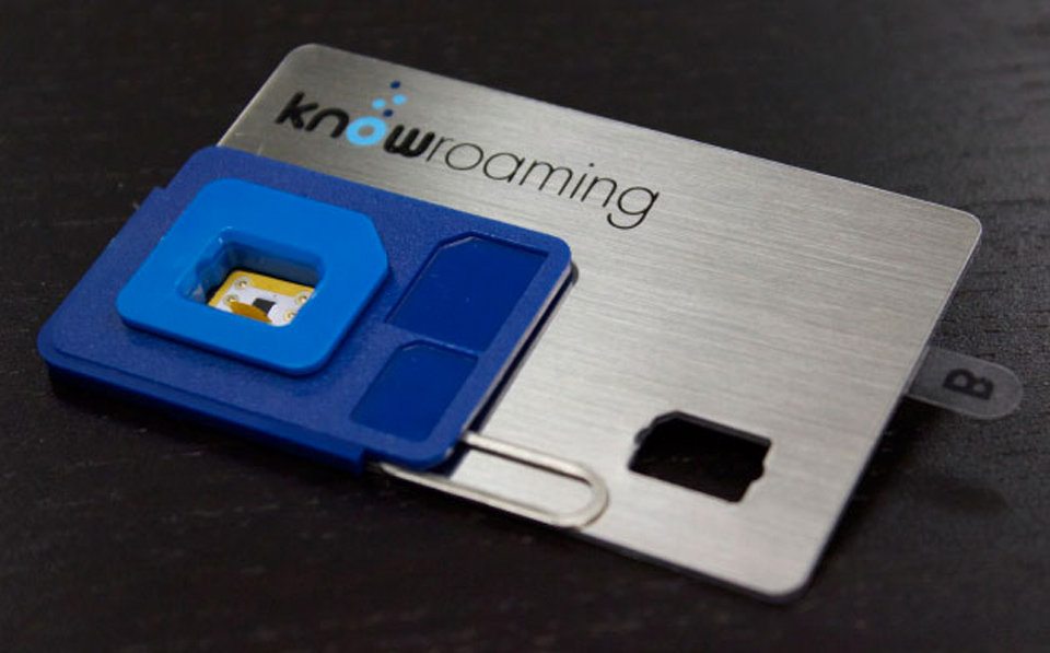 KnowRoaming's money-saving sticker SIM goes hardware-free
