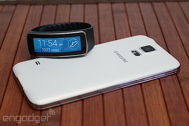Samsung Gear Fit review: a messy merger of fitness band and smartwatch