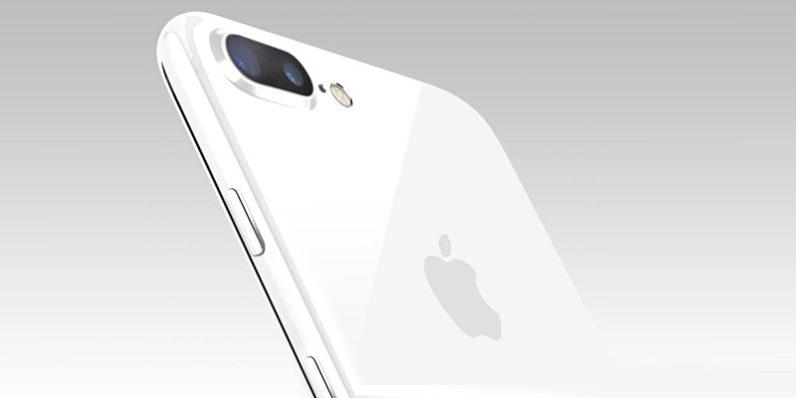 Un iPhone 7 en impoluto color blanco brillante podría aparecer pronto