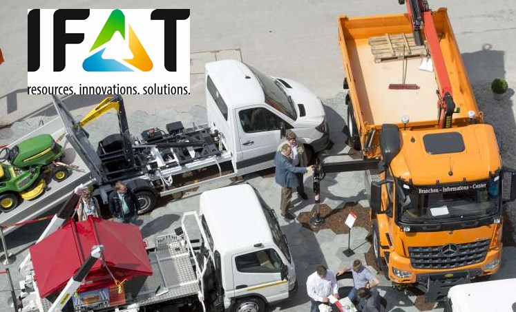 IFAT, Entsorga, Umwelttechnologie, Umwelt, Spezialfahrzeuge, müll, wasserwirtschaft, entsorgung