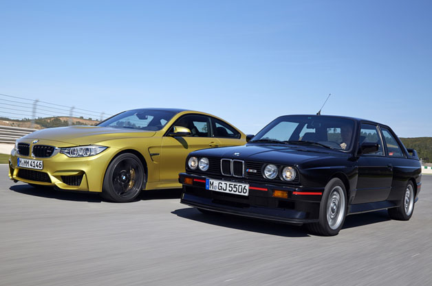 BMW M4 (F82) and M3 (E30)
