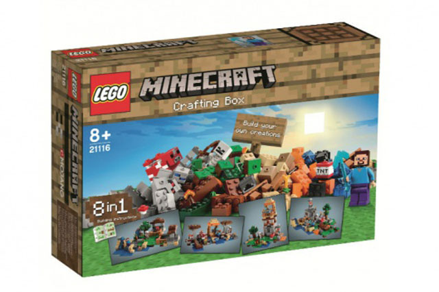 New Lego Minecraft: Sneak preview of new Christmas toys