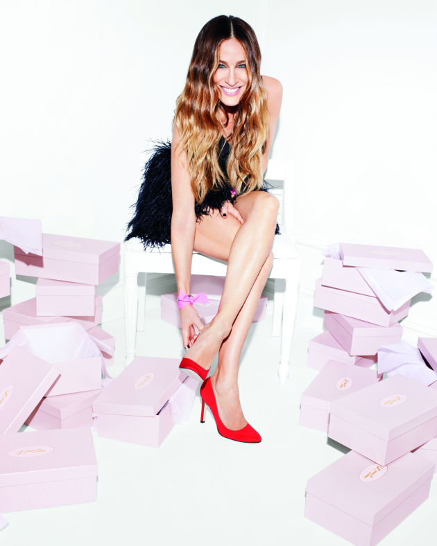 See Sarah Jessica Parker's second shoe (and handbag!) collection