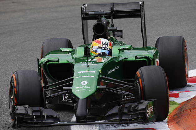 Caterham at Monza