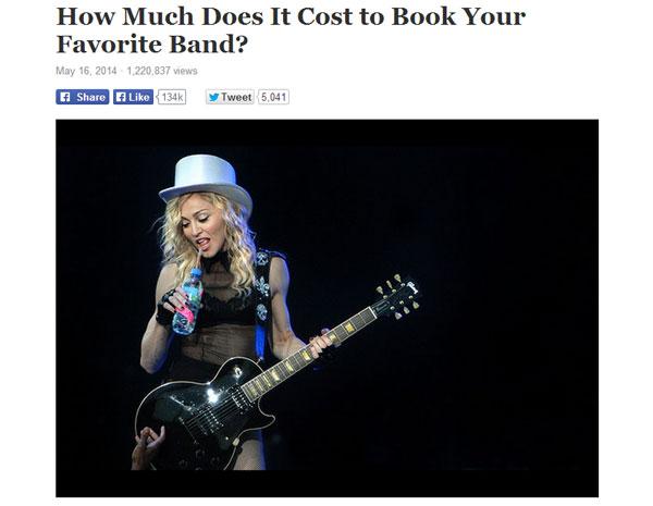 意外に安い人もいます マドンナ、ビーバーら、大物アーティストのギャラリストが公開