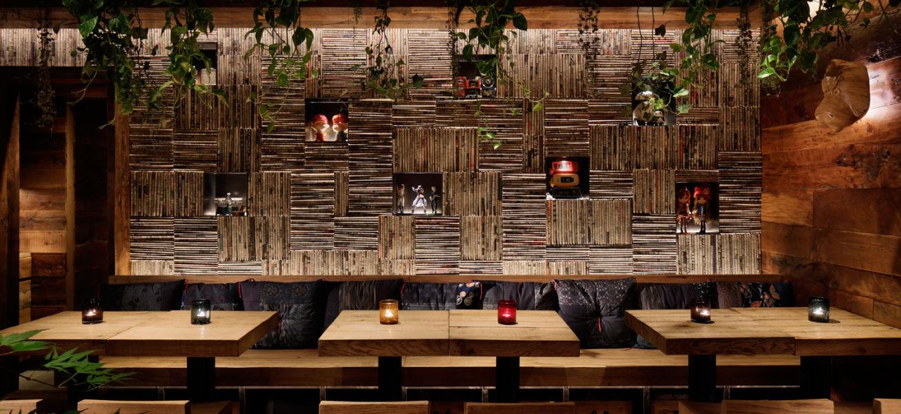 japanese restaurant interiors