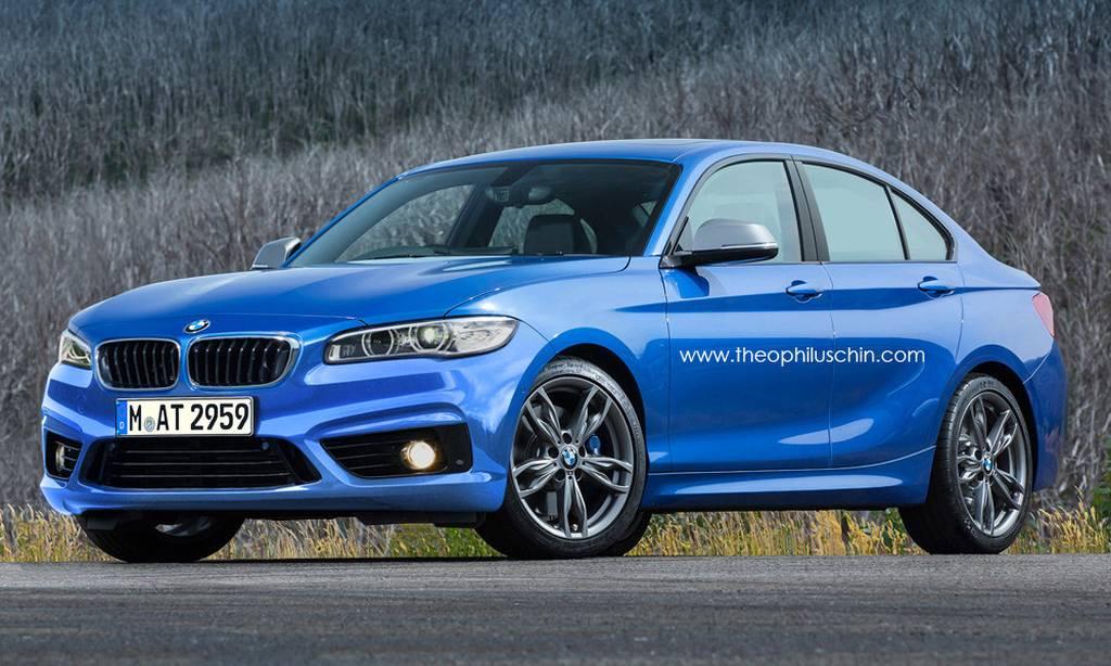 BMW, BMW 1er, BMW 1er Viertürer, BMW 1er Limousine, autos von morgen, BMW von morgen, 1er BMW, 1er BMW Limousine