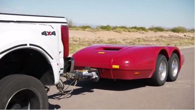 【ビデオ】フォード、ピックアップトラックの牽引性能をテストする新型デバイスを公開