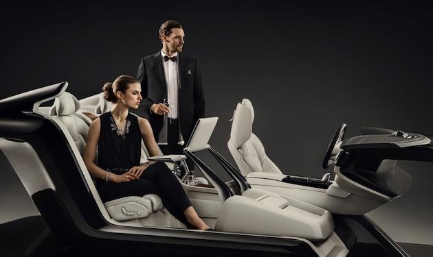 ボルボ、「S90 エクセレンス」の車内空間コンセプト「ラウンジ・コンソール」を北京モーターショーで発表