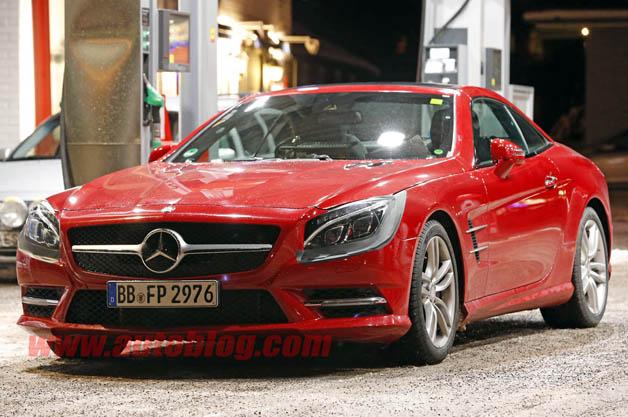 Mercedes-Benz SL-Class facelift prototype