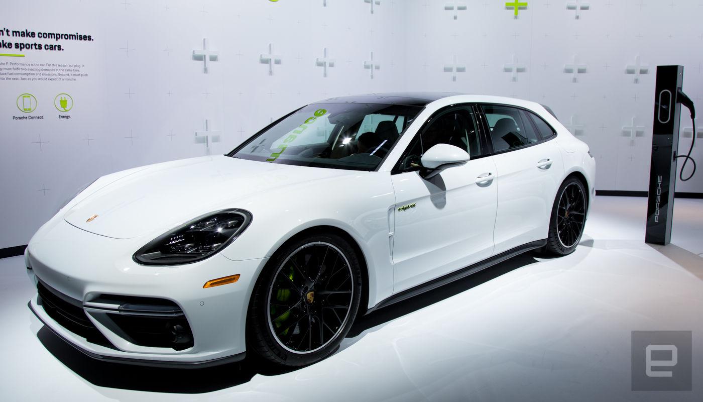 Porsche Panamera Turbo S E-Hybrid Sport Turismo vorgestellt