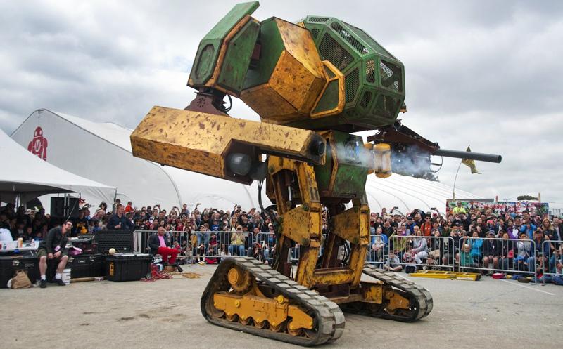 Duell der Kampfbot-Kolosse findet im August statt