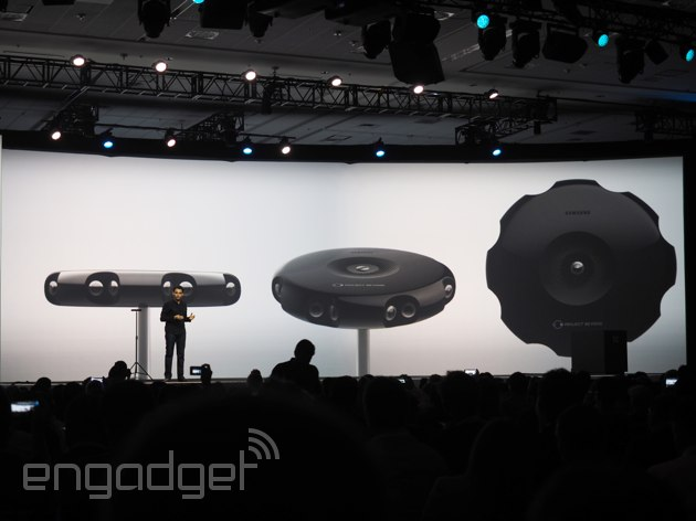 Samsung has just unveiled Project Beyond, a 3D-capturing camera for Gear VR