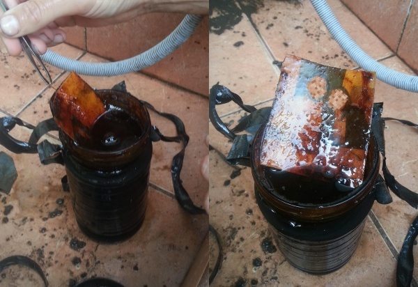 魔女の呪い!? 自宅の庭から十数年前の怪しい瓶が見つかったんですけど・・・