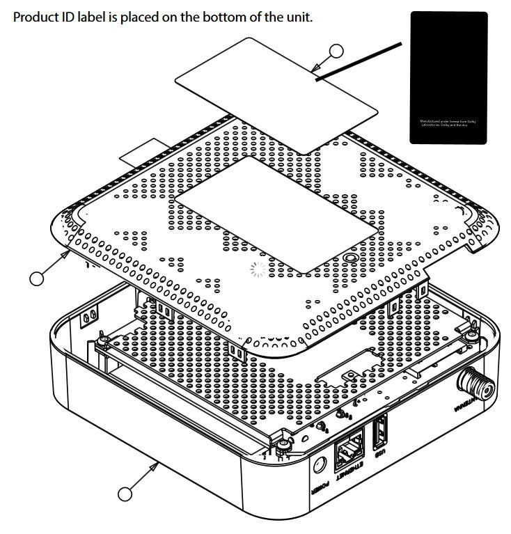 TiVo Mantis FCC diagram