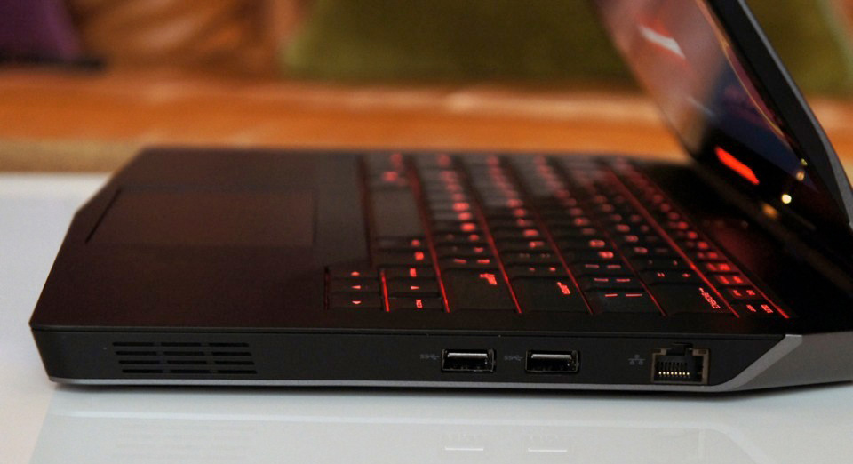 The Alienware 13 is the smallest and lightest gaming laptop in Dell's lineup