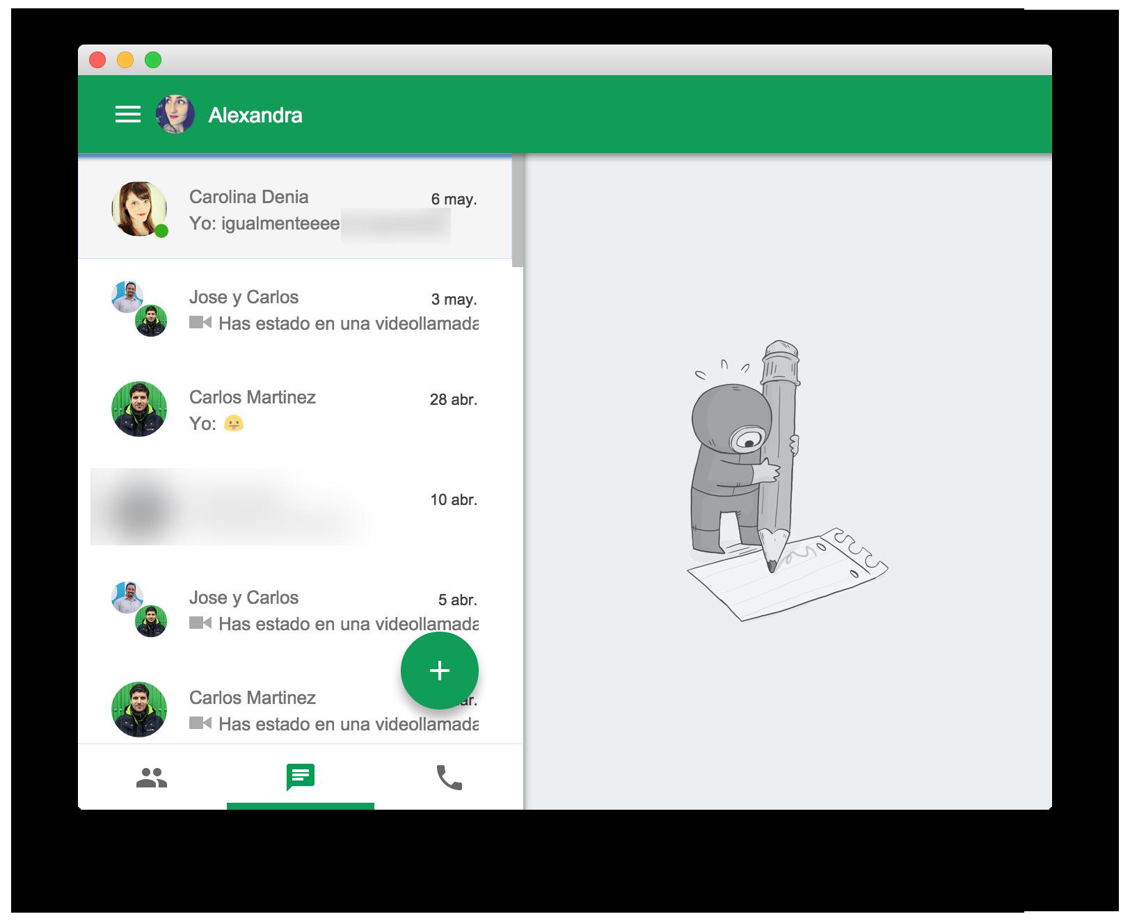 Hangouts para Mac se renueva (y ahora sí querrás usarlo)