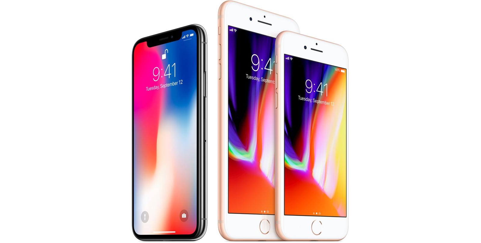 Estas son las diferencias entre el iPhone X, iPhone 8 y iPhone 7