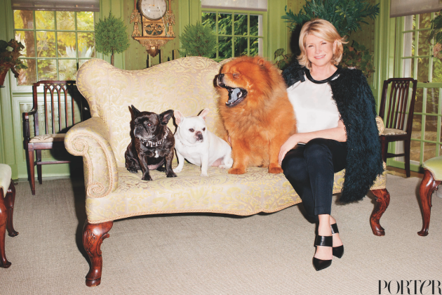 You've never seen Martha Stewart like this