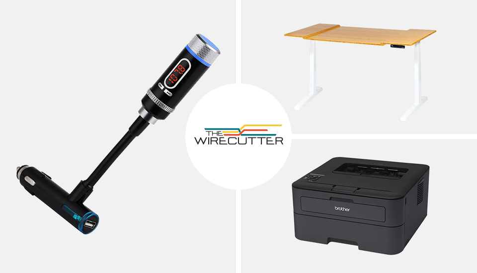 The Wirecutter's best deals: a standing desk, compact printer and more