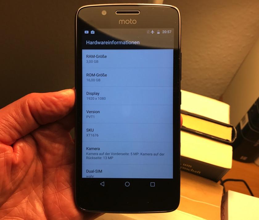 Moto G5: Version mit 3 GB RAM ab Mitte Mai