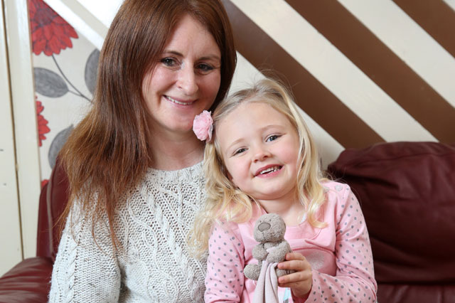 Girl, 4, reunited with teddy bear a week after she lost him on M6