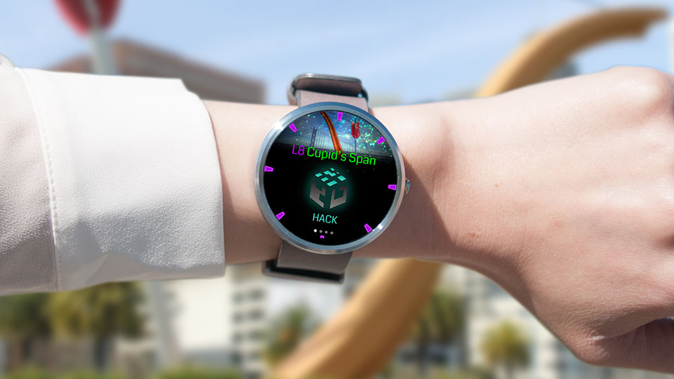 Google's augmented reality game 'Ingress' comes to Android Wear