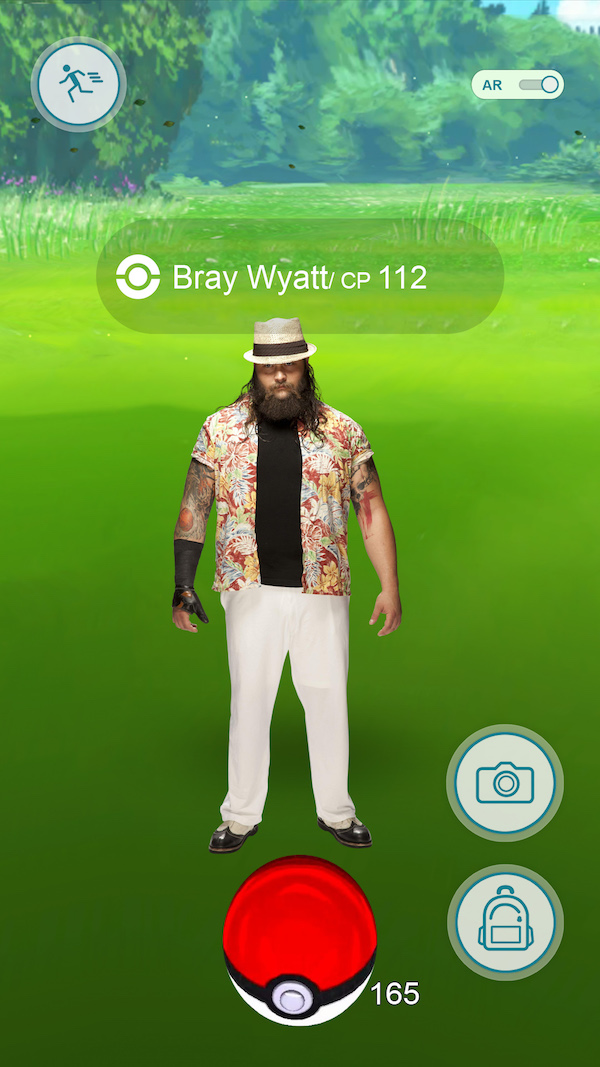 wwe pokemon go, bray wyatt