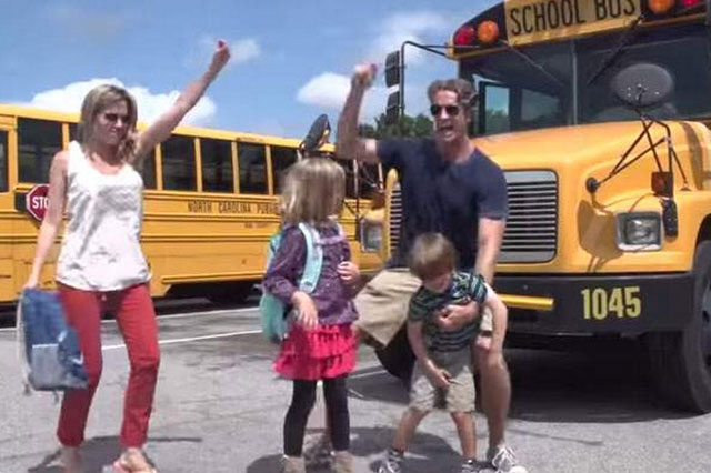 'Baby Got Class' Family turn Sir Mix-A-Lot 'Baby Got Back' into back to school anthem