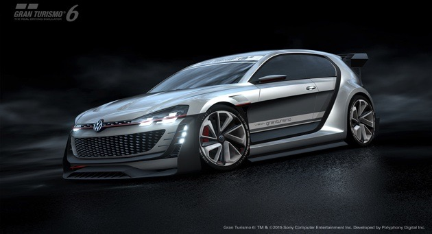 Volkswagen's latest 'Gran Turismo' concept is a 500-horsepower hatchback
